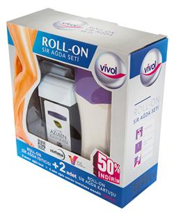Rollon Wax Heater Box Set